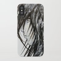 no face iPhone & iPod Cases featuring Face by rchaem