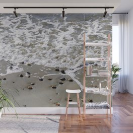 Pebbles on the beach Wall Mural