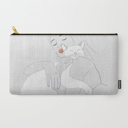 SLEEP WITH ME Carry-All Pouch
