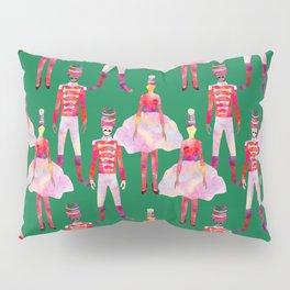 Nutcracker Ballet - Green  Pillow Sham