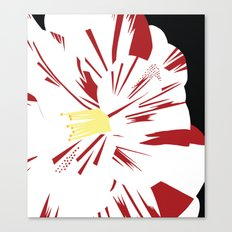 Camellia Flower Canvas Print