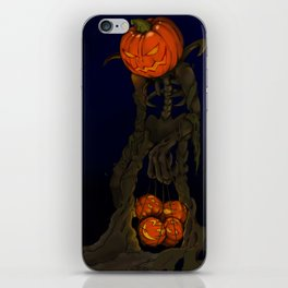 Pumpkin Monster iPhone Skin