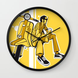 The Scooterboy Wall Clock