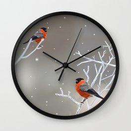 Safe transitions! // (polygonal bull-finch) Wall Clock