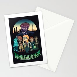 Thimbleweed Park Stationery Cards