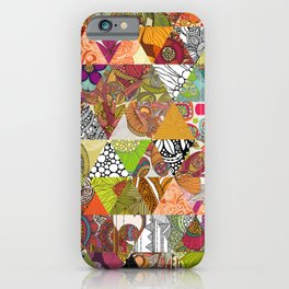 Like a Quilt iPhone Case