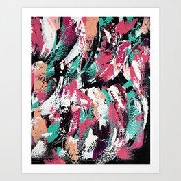 Abstract Emma Art Print