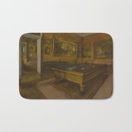 Billiard Room at Ménil-Hubert Bath Mat
