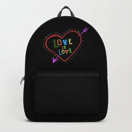 Love is love Backpack