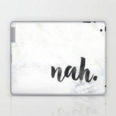 NAH Marble Quote Laptop & iPad Skin