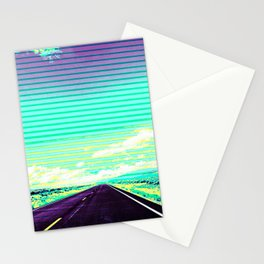 Road Trip Straight Ahead Stationery Cards