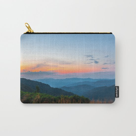 the beauty of the mountains Carry-All Pouch