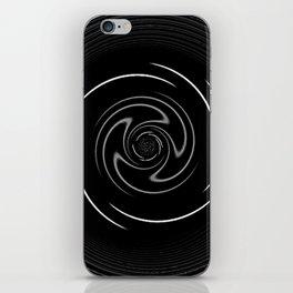 Black Wheel iPhone Skin