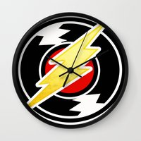 homestuck Wall Clocks featuring flash/homestuck by scubaduval