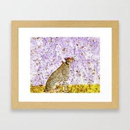African Leopard - Spot Me Framed Art Print