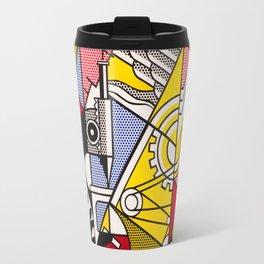 Lichtenstein - Peace Through Chemistry Travel Mug