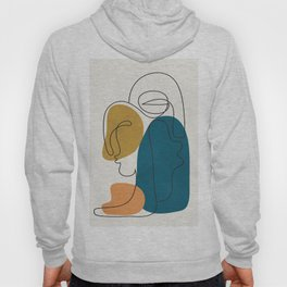 Abstract Faces 26 Hoody