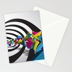 Triangle Trail Stationery Cards