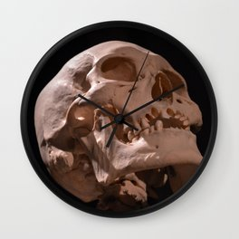 Real Human Skull Wall Clock