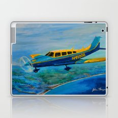 Piper over paradise Laptop & iPad Skin