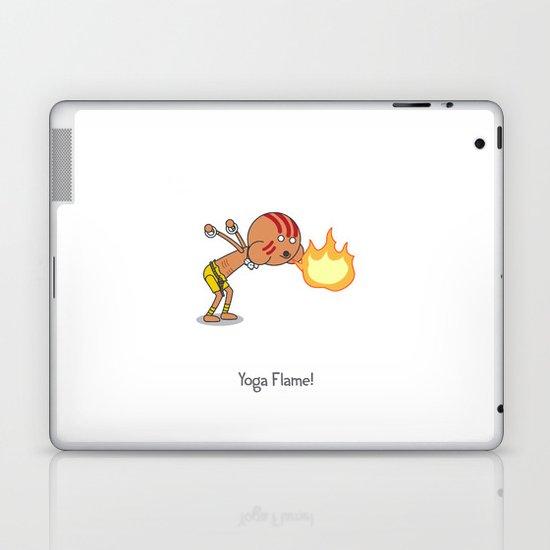 Yoga Flame! Laptop & iPad Skin