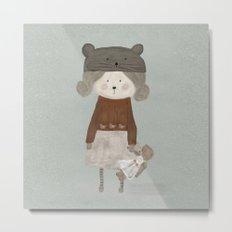 lucy bear Metal Print