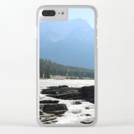 Athabaska Falls Clear iPhone Case