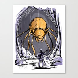 Spider Cave Canvas Print