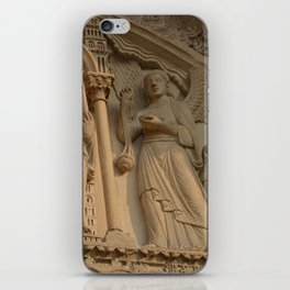 Angel of Notre Dame Cathedral, Paris iPhone Skin