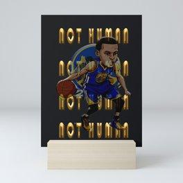 NOT HUMAN Mini Art Print