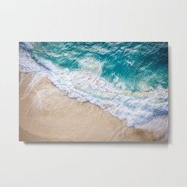 Ocean Beach Bali Metal Print