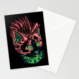 Punk Kitty Stationery Cards