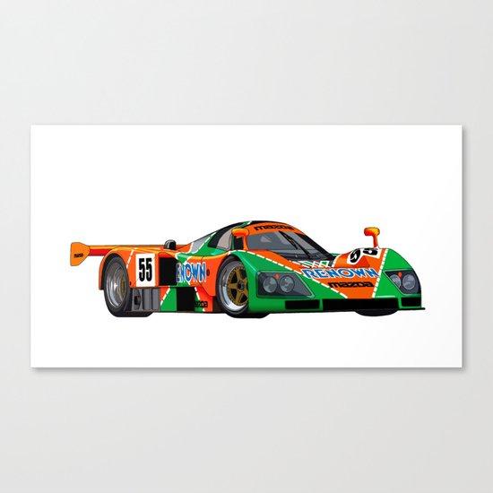 787B Canvas Print