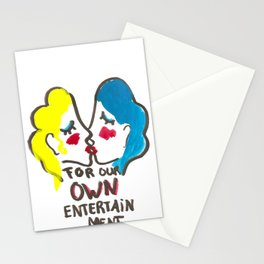 we are lesbians for our own entertainment Stationery Cards