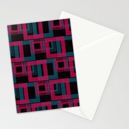 Geometric pattern . Leila . Stationery Cards
