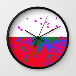 crystallize 7 Wall Clock