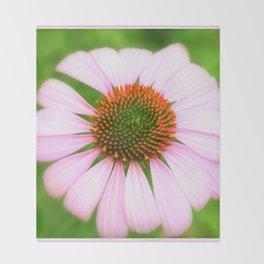 Pink Flower | Flowers | Photography | Nadia Bonello Throw Blanket