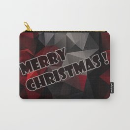 Polygon triangles . Merry Christmas ! Carry-All Pouch