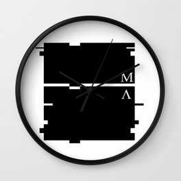 Cryptic Wall Clock