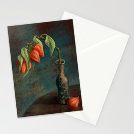 Stillife with Physalis Stationery Cards