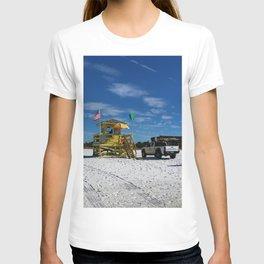Meet At The Yellow Lifeguard Station  T-shirt