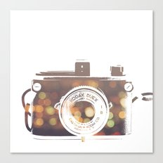 camera print Canvas Print