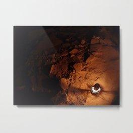Lantern Light II Metal Print