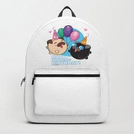 Poopie & Doopie - Happy Poopin' Birthday! Backpack