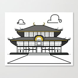 Icon-O-Tecture | Nara Todaiji Canvas Print