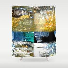Bar Table Shower Curtain