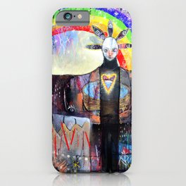 At The Crossroads iPhone Case