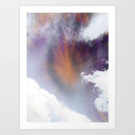 stormy haze Art Print