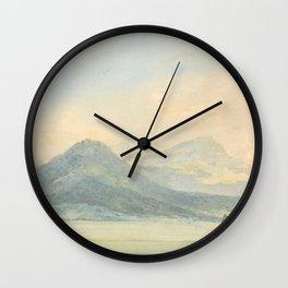 """J.M.W. Turner """"From the Isola Borromena, Lago Maggiore"""" Wall Clock"""