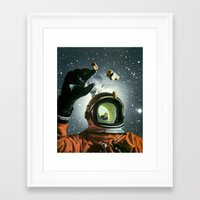 portal 2 Framed Art Prints featuring Portal by Peter Campbell